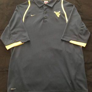 West Virginia University Nike Men's Polo